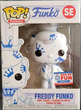 image de Freddy Funko (Artist Series) (White & Blue)