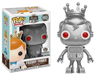 image de Robot Freddy Funko (Silver)