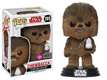 image de Chewbacca (The Last Jedi) (Flocked)