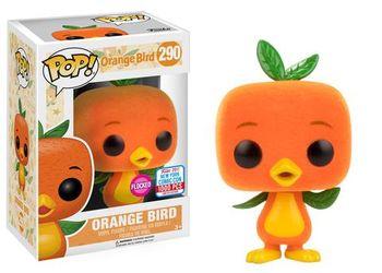 image de Orange Bird (Flocked)