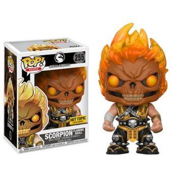 image de Scorpion (Flaming Skull)