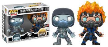 image de Scorpion & Sub-Zero (2 Pack)