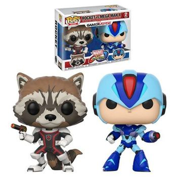 image de Rocket Raccoon vs Mega Man X (2-Pack)