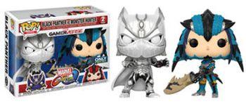 image de Black Panther (White) vs. Monster Hunter (Blue) (2-Pack)