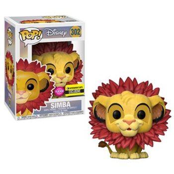 image de Simba (Leaf Mane) (Flocked)