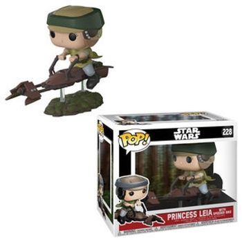 image de Princess Leia with Speeder Bike