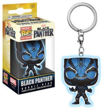 image de Black Panther (Black Panther Movie) (Glow in the Dark)