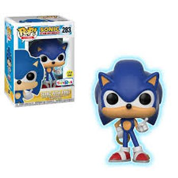 image de Sonic with Ring (Glow in the Dark)