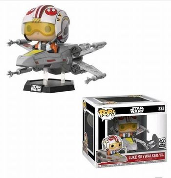 image de Luke Skywalker with X-Wing