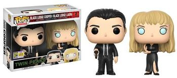 image de Cooper & Laura (Black Lodge 2-Pack) [SDCC]