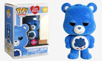 image de Grumpy Bear (Flocked)