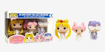 image de Neo Queen Serenity, Small Lady, & King Endymion (3-Pack)