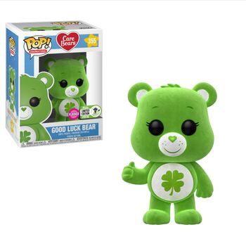 image de Good Luck Bear (Flocked) [ECCC]