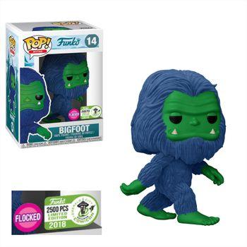 image de Bigfoot (Flocked) (Blue & Green) [ECCC]