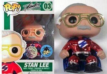image de Stan Lee (Superhero) (Red Metallic)