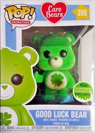image de Good Luck Bear (Flocked) [Spring Convention]