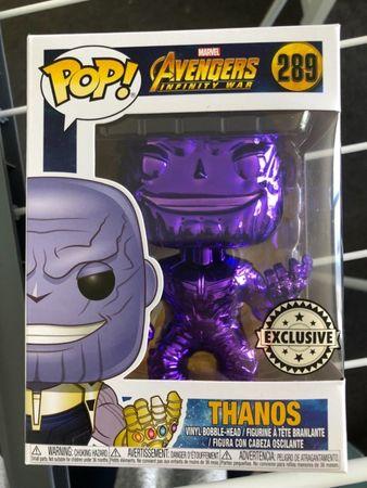 image de Thanos (Infinity War) (Purple Chrome)