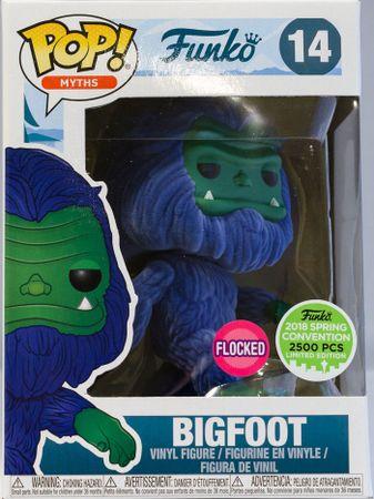 image de Bigfoot (Flocked) (Blue & Green) [Spring Convention]