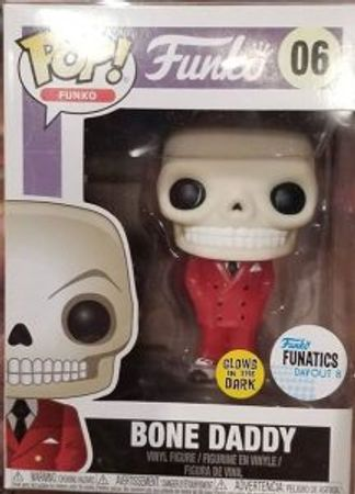 image de Bone Daddy (Red Suit) (Glow in the Dark)
