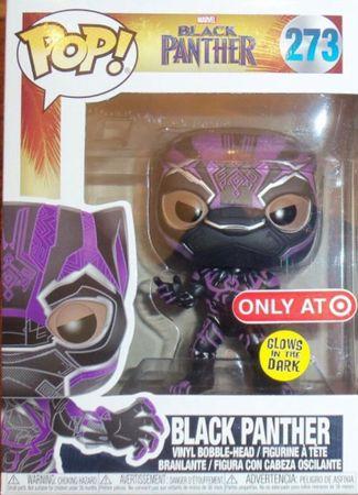 image de Black Panther (Black Panther Movie) (Purple Glow)