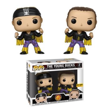 image de The Young Bucks (Purple & Gold)