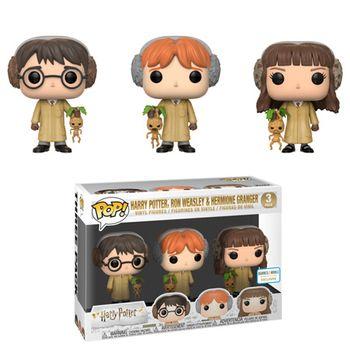 image de Harry Potter, Ron Weasley, & Hermione Granger (Herbology) (3-Pack)