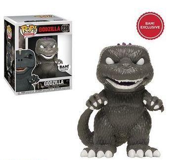 image de Godzilla (Black & White) (Purple Back)
