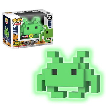 image de Medium Invader (Glow in the Dark)