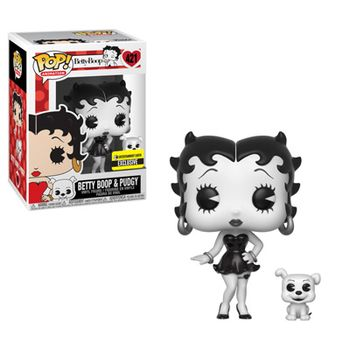image de Betty Boop & Pudgy (Black & White)