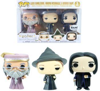 image de Albus Dumbledore, Minerva McGonagall & Severus Snape (3-Pack)