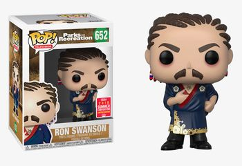 image de Ron Swanson (Cornrows) [Summer Convention]