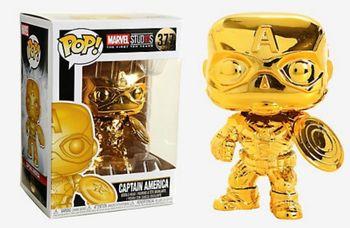 image de Captain America (Gold Chrome)