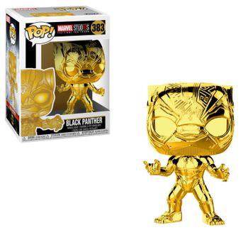 image de Black Panther (Gold Chrome)