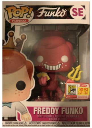 image de Freddy Funko (The Devil) (Red)