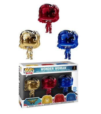 image de Wonder Woman (Gauntlets) (Chrome 3-Pack)