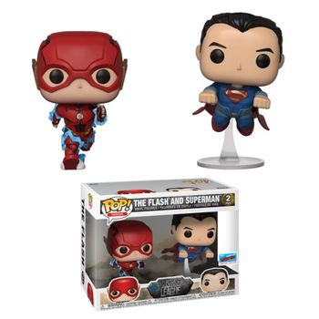 image de The Flash and Superman (Racing) (2-Pack) [NYCC]
