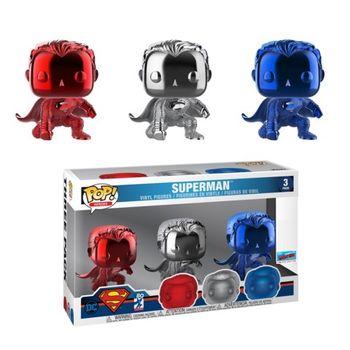 image de Superman (Justice League) (Chrome 3-Pack) [NYCC]