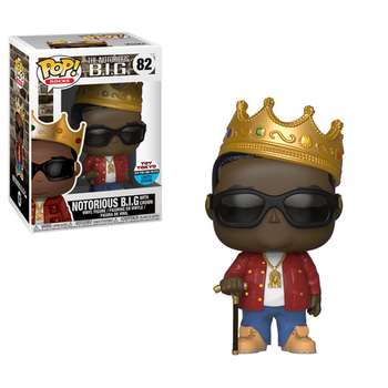 image de Notorious B.I.G. with Crown (Red Jacket) [NYCC]