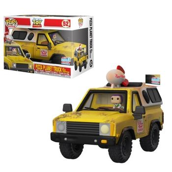 image de Pizza Planet Truck With Buzz Lightyear [Fall Convention]