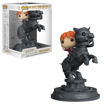 image de Ron Weasley Riding Chess Piece