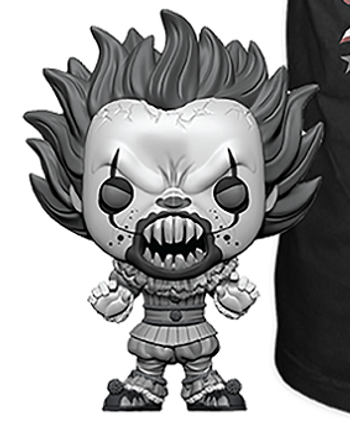image de  Pennywise (With Teeth) (Black & White)
