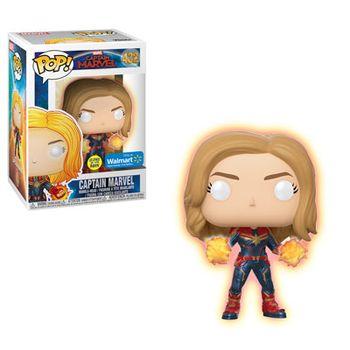 image de Captain Marvel (Glow in the Dark)