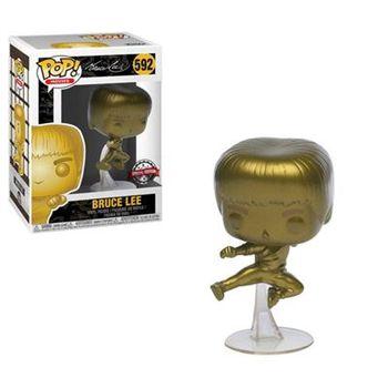 image de Bruce Lee (Flying Man) (Gold)