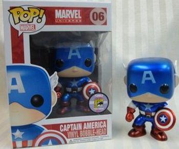 image de Captain America (Metallic) [2011 SDCC]