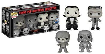 image de Universal Monsters (Black & White) (4-Pack)