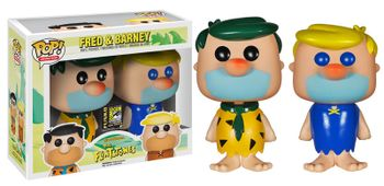 image de Fred And Barney (Green/Yellow Hair) (2-Pack)