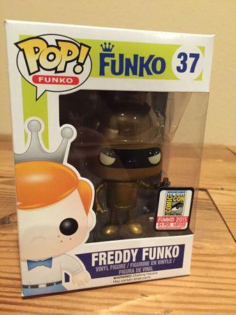 image de Bender (Gold) (Freddy Funko)