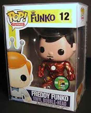 image de Tony Stark (Metallic) (Freddy Funko)