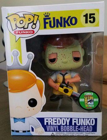image de Leatherface (Bloody) (Freddy Funko)