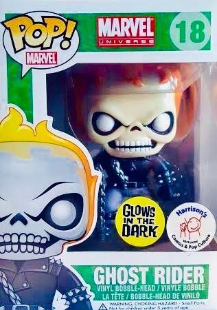 image de Ghost Rider #18 (Glow, Bobble-Head) [Harrison's Comics]